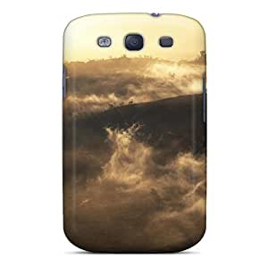 Hot Aerial View Of Hualalai Volcano At Sunrise Big Isl Hawaii First Grade Tpu Phone Case For Galaxy S3 Case Cover by supermalls