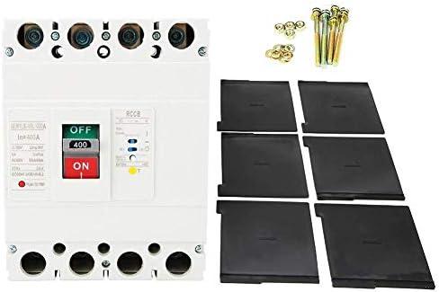 WXQ-XQ 漏れサーキットブレーカー、3P + Nモールドケース残留電流回路ブレーカRCCB漏れサーキットブレーカー400A 遮断器
