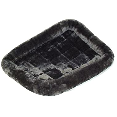 MidWest Quiet Time Pet Bed, Gray, 30  x 21