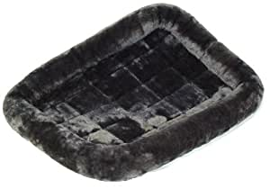 """MidWest Quiet Time Pet Bed, Gray, 30"""" x 21"""""""