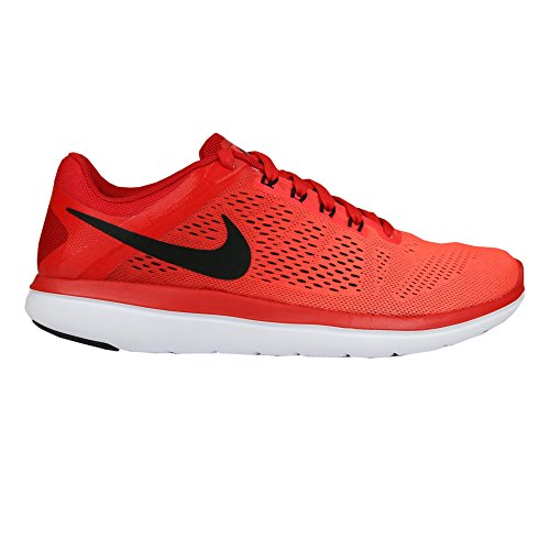 Nike Mens Flex 2016 Rn Running Shoes University Red/Bright Crimson/White/Black 9.5 D(M) US (Nike Flex Run Mens Shoes)