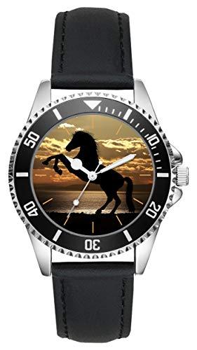 Caballos Arrogantes Regalo Artículo Idea Fan Reloj L-20538