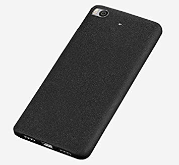 Baanuse Xiaomi 5S Funda Xiaomi Mi5S Funda, [Ultra Slim Soft TPU] [Sand Scrub Non-slip] [Shockproof Armor] Carcasa para Xiaomi 5S Negro