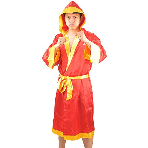 wesing Boxing Robe Boxing robe with hood Boxing robe for men and women Boxing robe satin