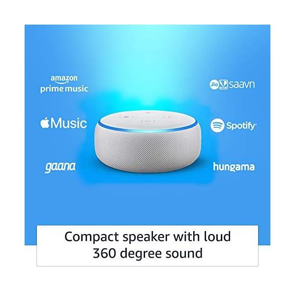 41pnTb5ZRsL Echo Dot (3rd Gen) – Smart speaker with Alexa (White)