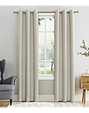 Blackout curtain grommets- off white