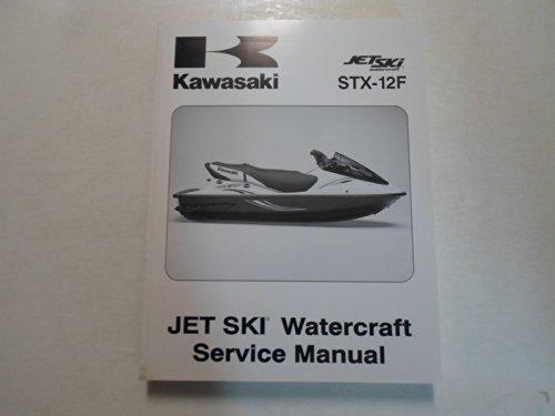 - 2003 Kawasaki STX-12F Jet Ski Watercraft Service Repair Shop Manual