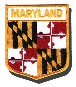 Flagline Maryland - State Shield Patch
