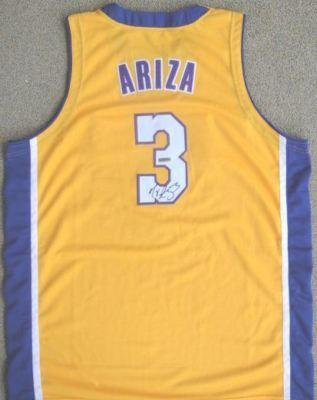 best service f6bbf d2d2b Trevor Ariza Signed Jersey - Auth UDA - Autographed NBA ...