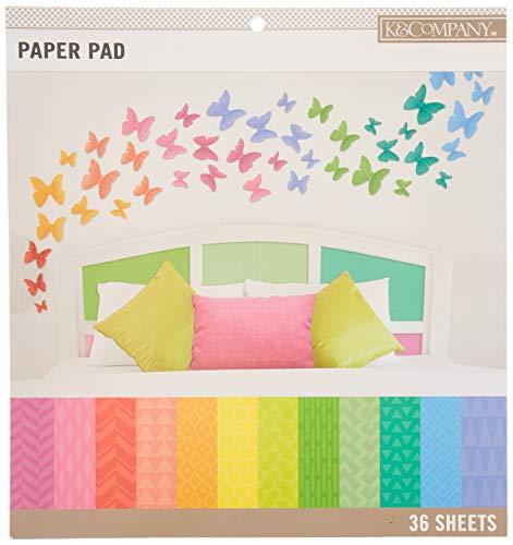 - K&Company 30-697751 Scrapbook Paper Pad Multicolor