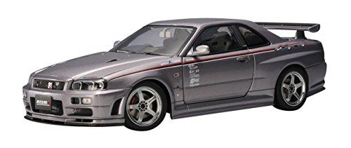 Nissan Skyline GTR (R34) Nismo S-Tune (Silver) (Diecast Model)