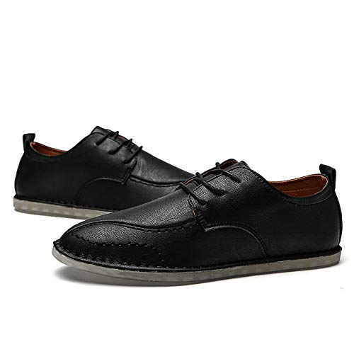 Scarpe casual Stringate 2018 37 uomo Xujw Scarpe Nero Dimensione EU Basse tinta Color oxford unita Scarpe da shoes Stringate Marrone wPXqRqW1