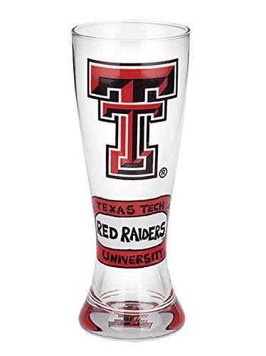 NCAA Texas Tech Pilsner Bear Glass, 22 oz