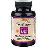 Dragon Herbs Will Strengthener -- 500 mg - 100 Vegetarian Capsules