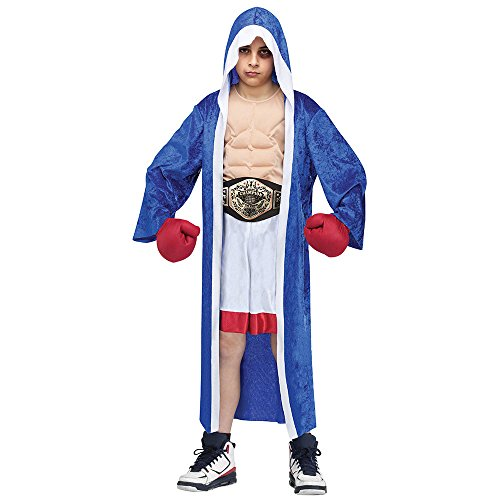 Big Boys' Lil' Champ Boxer Costume - -