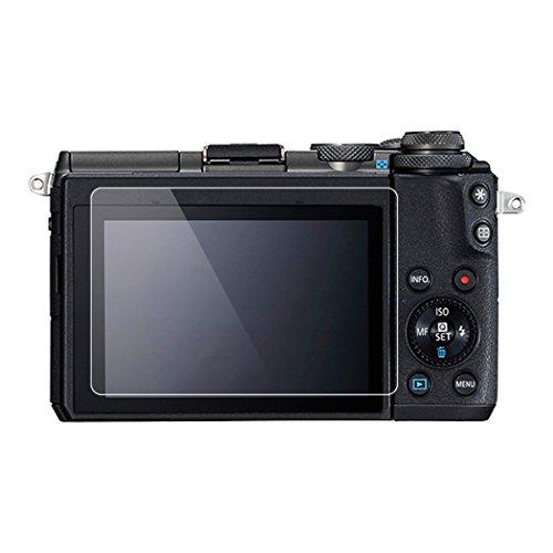 60D Camera BolinUS 0.3mm LCD Optical 9H Hard Tempered 2 Pack Anti-scratch Glass Screen Protector Skin Film for Canon EOS 600D EOS 600D Screen Protector