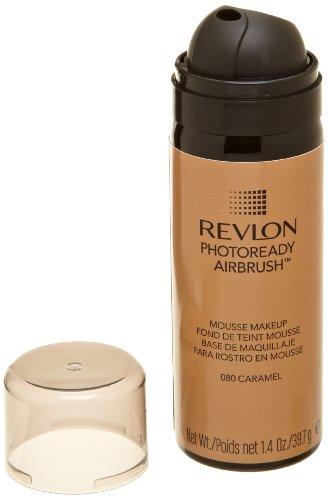REVLON Photoready Airbrush Mousse Makeup, Caramel, 1.4 Ounce