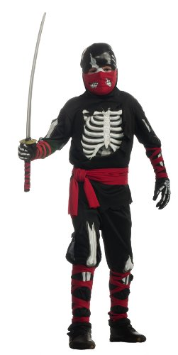 Halloween Sensations Child's One Dead Ninja Costume, Small