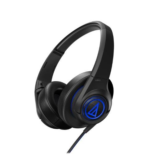 Audio Technica ATHAX5BK Over-Ear Headphones, Black