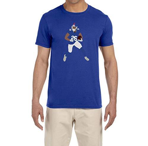 - Tobin Clothing Blue New York Saquon Running T-Shirt Adult Medium