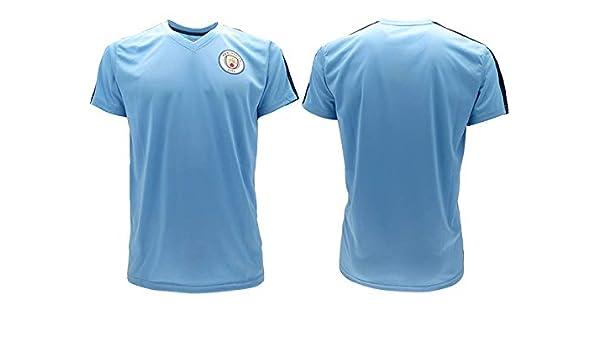 Manchester City F.C. Camiseta de fútbol Oficial SR0575A-360-MCI ...