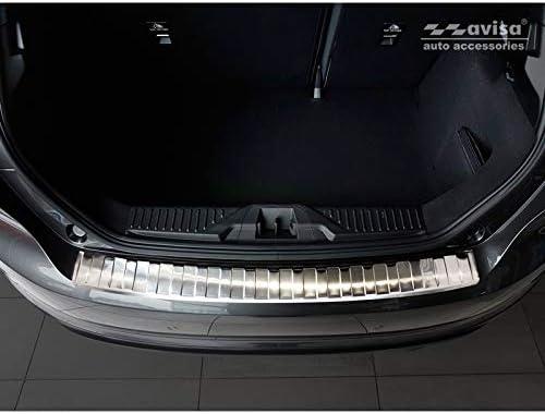 Ribs Avisa 2//35409 Edelstahl Hecksto/ßstangenschutz kompatibel mit Ford Fi/ësta MK8 5-t/ürer 2017