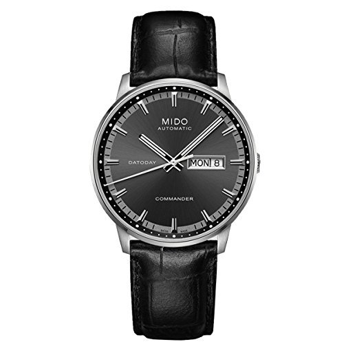 MIDO Commander II Mens Datoday M016.430.16.061.22 Gents M0164301606122 by Mido -  508302