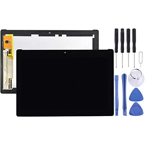 Leya REPAIRPARTS LCD Screen and Digitizer Full Assembly for Asus ZenPad 10 Z300M / P021 (Yellow Flex Cable Version) (Black) (Color : Black)