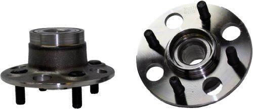 Brand New (Both) REAR Wheel Hub and Bearing Assembly for 2001-05 Honda Civic 4 Bolt W/o ABS (Pair) 512174 x2