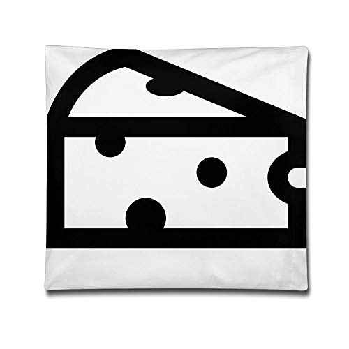 Phyllis Walker Pillow Shams Cheeses Square Throw Pillow