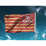 ReddingtonFlags NFL Double Sided Stars and Stripes 3X5 FT USA Flag