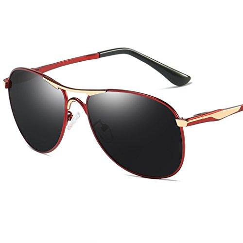 soleil des conduisant conducteur lunettes de Couleur polarisé yeux lunettes hommes Lunettes léger B de C de Les ont le soleil de Oq056w