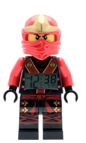 LEGO Kids' 9001161 NINJAGO Kai Figurine Alarm (Lego Alarm Clock)
