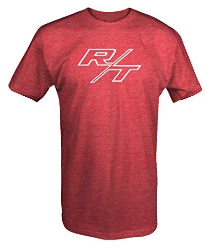 R/T RT Dodge Mopar Charger Challenger Hemi V8 Muscle Car Logo T shirt -Medium