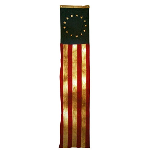 13-Star 20in x 8ft Sewn Cotton Flag Pull Down Heritage Series by Valley Forge - FG-HBRPD_VFHS