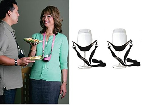 WineYoke Party Glass Holder Necklace product image