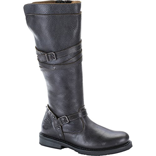 Harley Davidson Damenstiefel Biker Boots D83660 Cyndie Slate Grau Slate