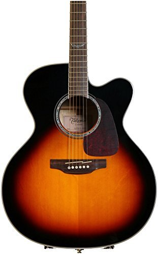 Takamine 6 String Acoustic-Electric Guitar, Right Handed, Sunburst (GJ72CE-BSB) by Takamine