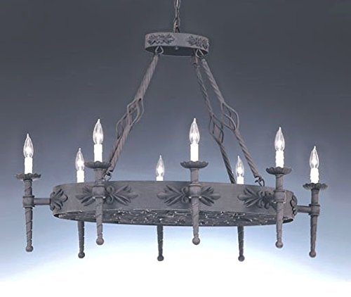 (Designers Fountain 9188-NI Alhambra 8 Light Island)