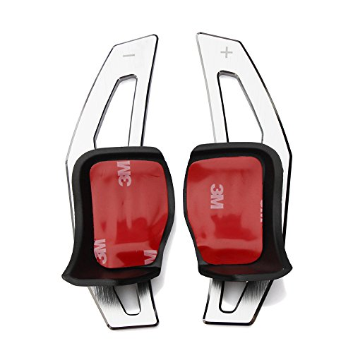 Trudged(TM) For Volkswagen Tiguan Golf 6 MK6 Jetta GTI R20 R36 CC Scirocco EOS steering wheel shift paddle DSG Paddle Extension car styling