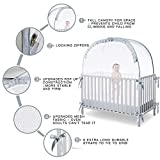 L RUNNZER Baby Safety Crib Tent to Keep Baby from