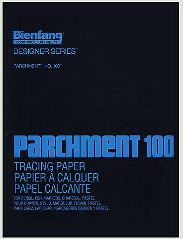 Bienfang Parchment 100 Tracing Paper (19 In. x 24 In.) - Pad of 50 Sheets 1 pcs sku# 1831964MA by Bienfang
