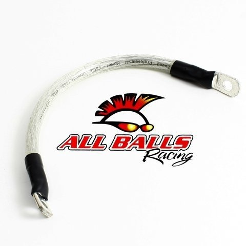 """All Balls 78-110 Clear 10"""" Battery Cable"""