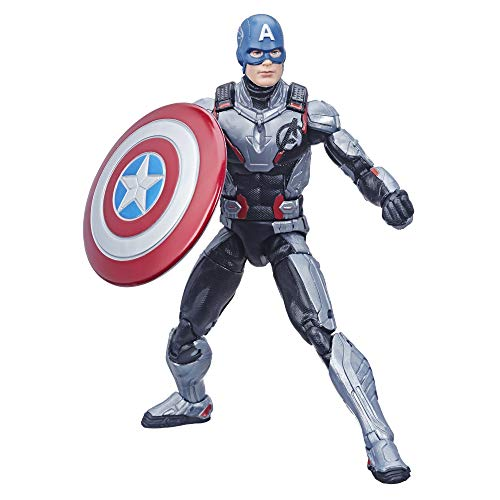 Avengers Hasbro Marvel Legends Series Endgame 6 Captain America Marvel Cinematic Universe Collectible Fan Figure