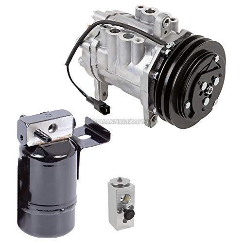 AC Compressor w/A/C Drier & Exp For Dodge Ram Pickup & Ramcharger - BuyAutoParts 60-81977RS New ()