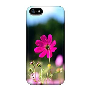 Luoxunmobile333 RZM2715yUQy Cases For Iphone 5/5s With Nice Pink Cosmos Flowers Appearance