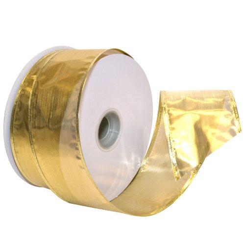 Best gold wired ribbon 2 1/2 inch for 2020