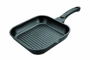Lacor 25525 - Grill aluminio fundidoinduccion 24x24 cms