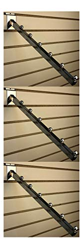 Waterfall Square Tube 6 Ball For Slatwall 16