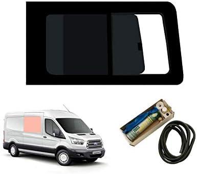 Mano derecha, tintado oscuro apertura ventana para Panel lateral OPP. Puerta Corredera Kit Ford Transit MK8 (2014 On): Amazon.es: Coche y moto